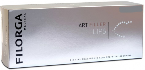 Filorga Art Filler Lips Lidocaine (Филорга Арт Филлер Липс Лидокаин) - шприц 1 мл